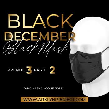 3X2 BLACK MASK