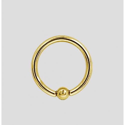 bcr titanio colore oro 1.6x10mm
