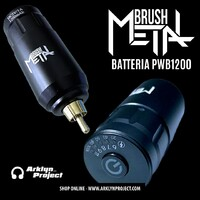 POWER BATTERY METALBRUSH Disponibile online su www.arklynproject.com