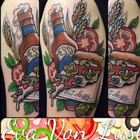 TATTOO ESEGUITO DA @evavonlust_tattoo #brand#tattoogirl#tattooartist #arklynproject #Steel #piercing #concention#brass #brassjewelrydesigns #opal#sintetis#seguimi#arte#piercinporn#tribal#esteta#club#venezia#veneto#venetogram#milano#tattoo#pietra#arklynproject