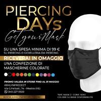 Continua anche a 𝗠𝗔𝗚𝗚𝗜𝗢 la promozione 𝙋𝙄𝙀𝙍𝘾𝙄𝙉𝙂 𝘿𝘼𝙔𝙎! Riceverai una confezione di mascherine colorate su una spesa minima di 99€! Vieni in store, ti aspettiamo!!!!!!!!!!!!